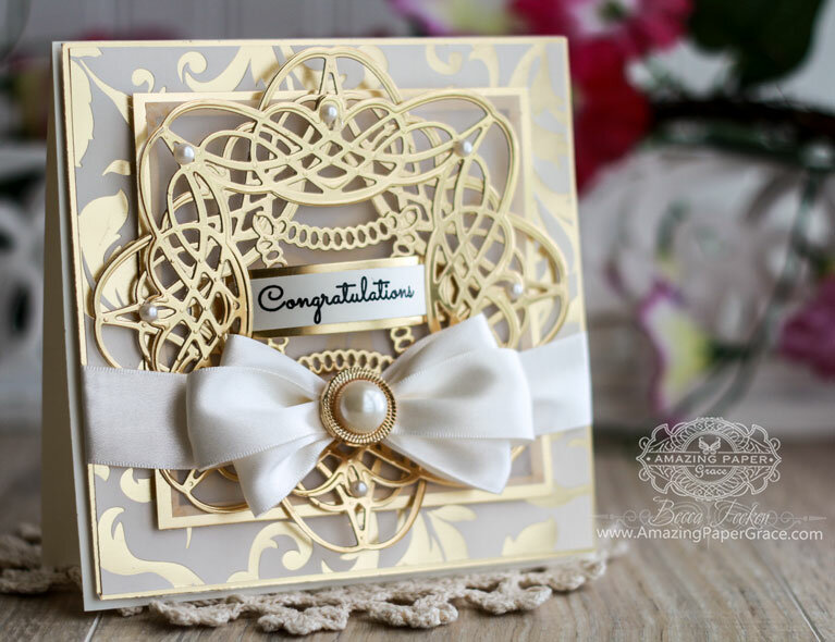 Braided Square Card Inspiration by Becca Feeken