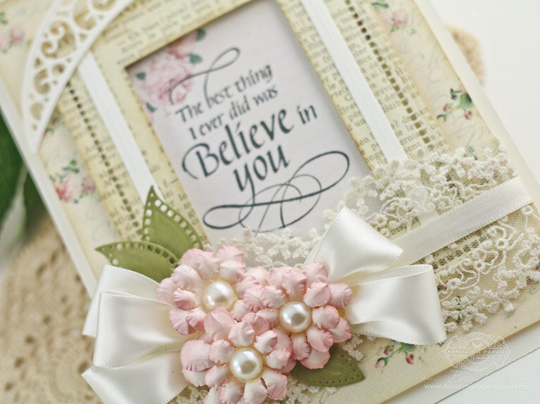 Handmade Flower Inspiration using Cinch and Go Flowers by Becca Feeken
