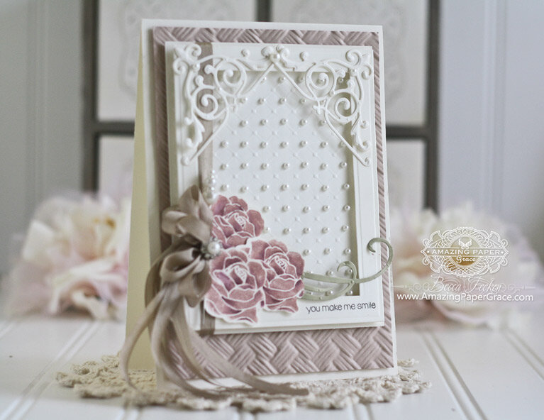 Embossing Folder Inspiration by Becca Feeken