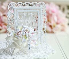 Emmeline Treillage lace card inspiration by Becca Feeken