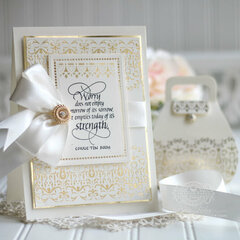 Gilded Glimmer Lace and Frippery Inspiration by Becca Feeken