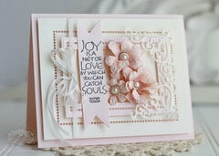 Hemstitch Rectangles with Cinch and Go Flower Inspiration by Becca Feeken