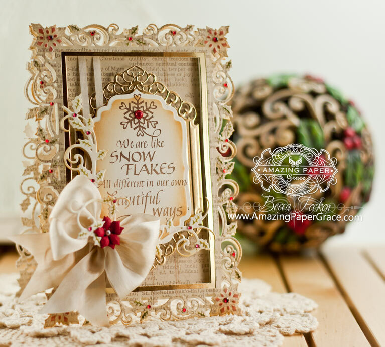 Holly Frame Inspiration by Becca Feeken
