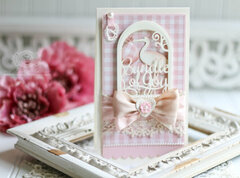 Layered Bundle of Joy card by Becca Feeken