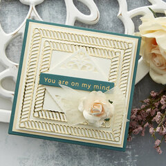 You Are On My Mind Square Card