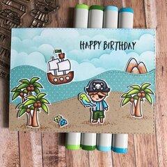 Pirate Happy Birthday