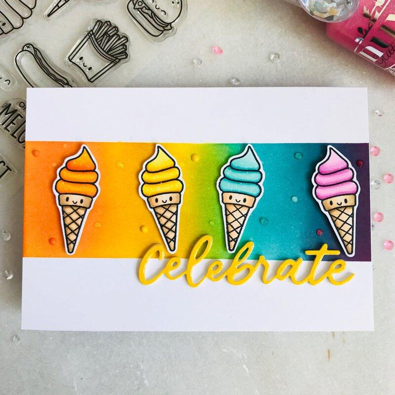 Celebrate with ice cream!