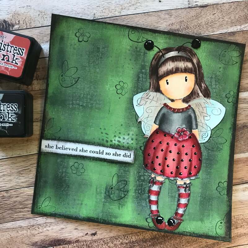 Gorjuss Ladybug Girl
