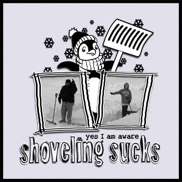 *RATED R* Shoveling Sucks