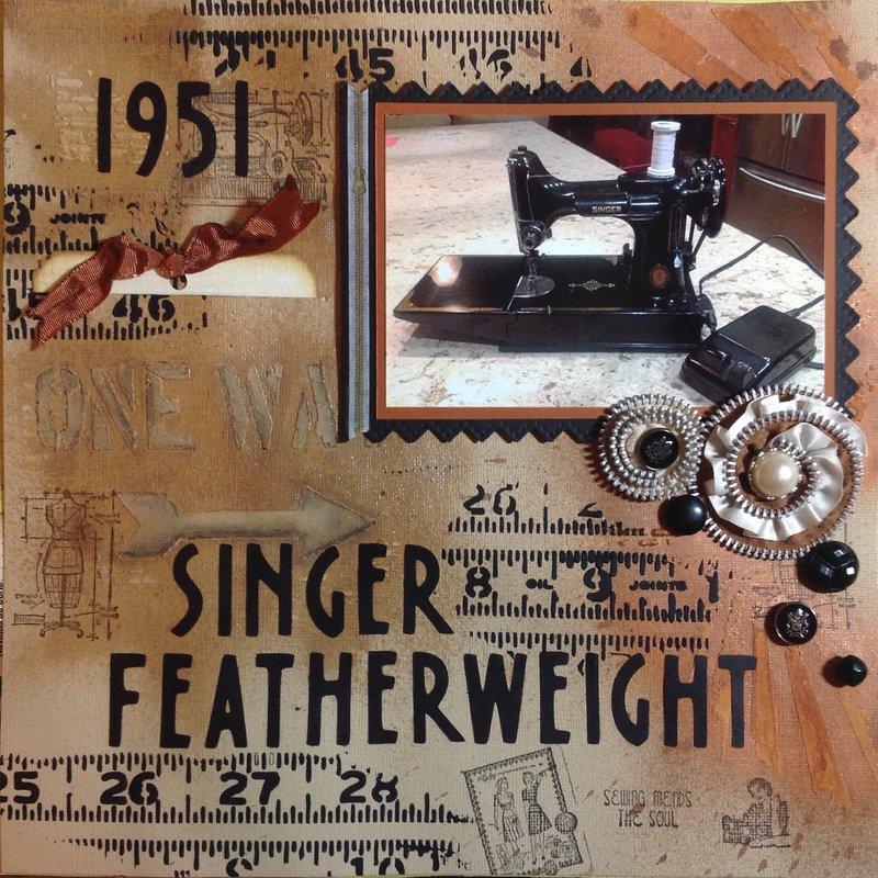 1951 Singer Featherweight