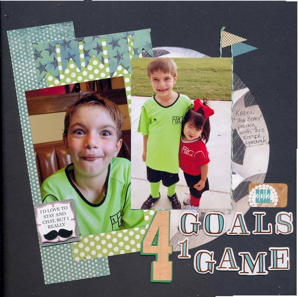 4 Goals 1 Game