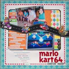 Mario Kart 64- battle mode