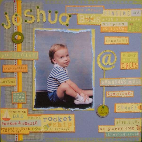 Joshua @ 21 months