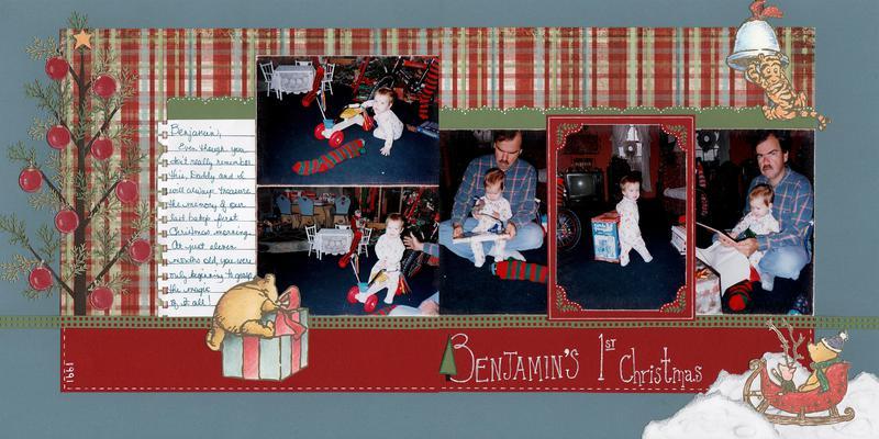 Benjamin's 1st Christmas