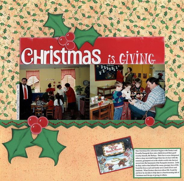 Christmas is Giving