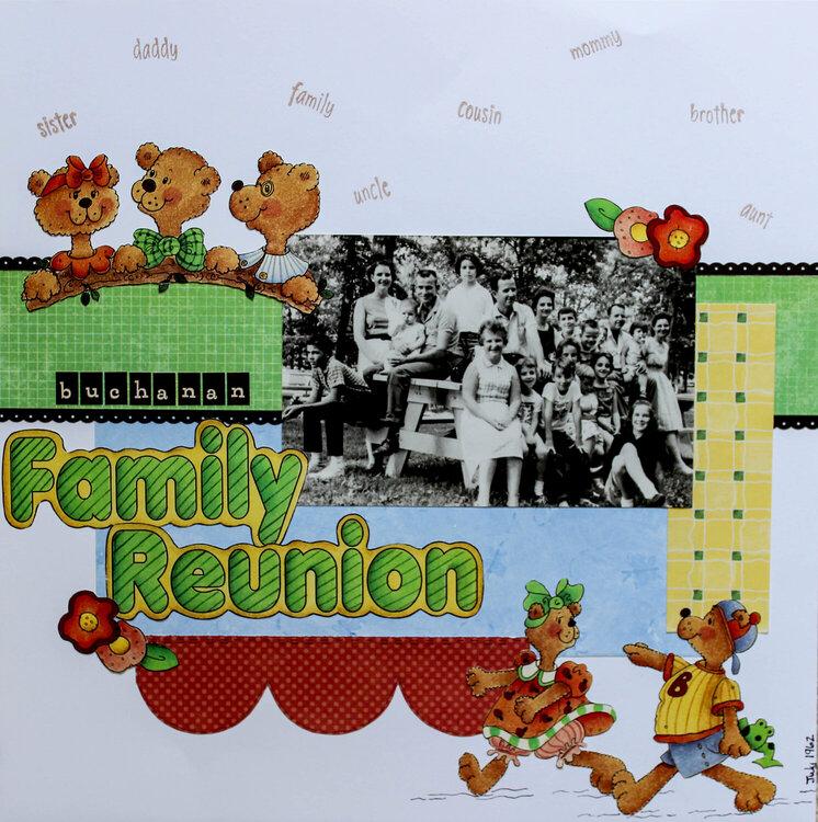 Buchanan Family Reunion