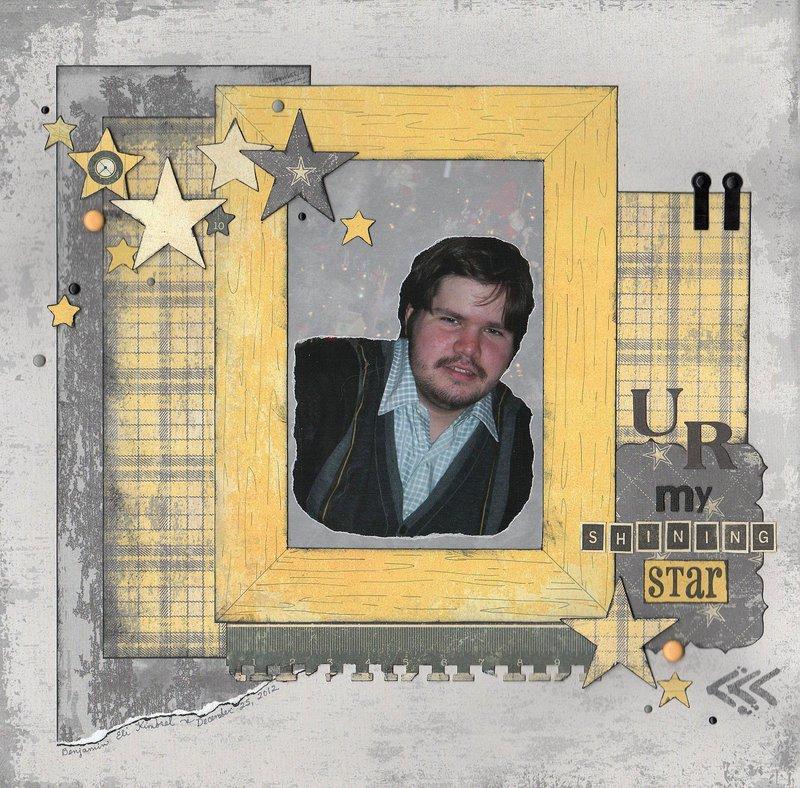 U R my shining star
