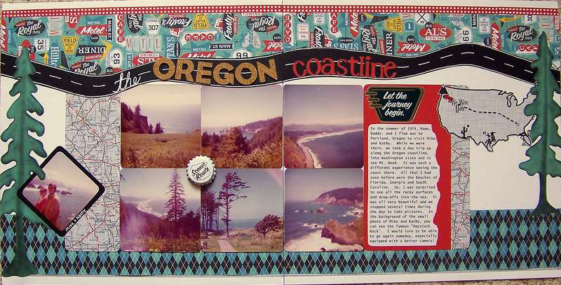 The Oregon Coastline