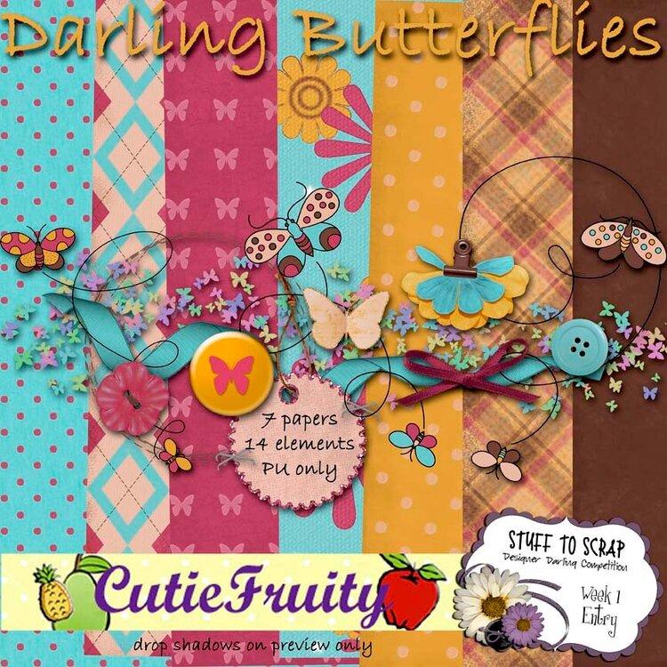Darling Butterflies mini kit