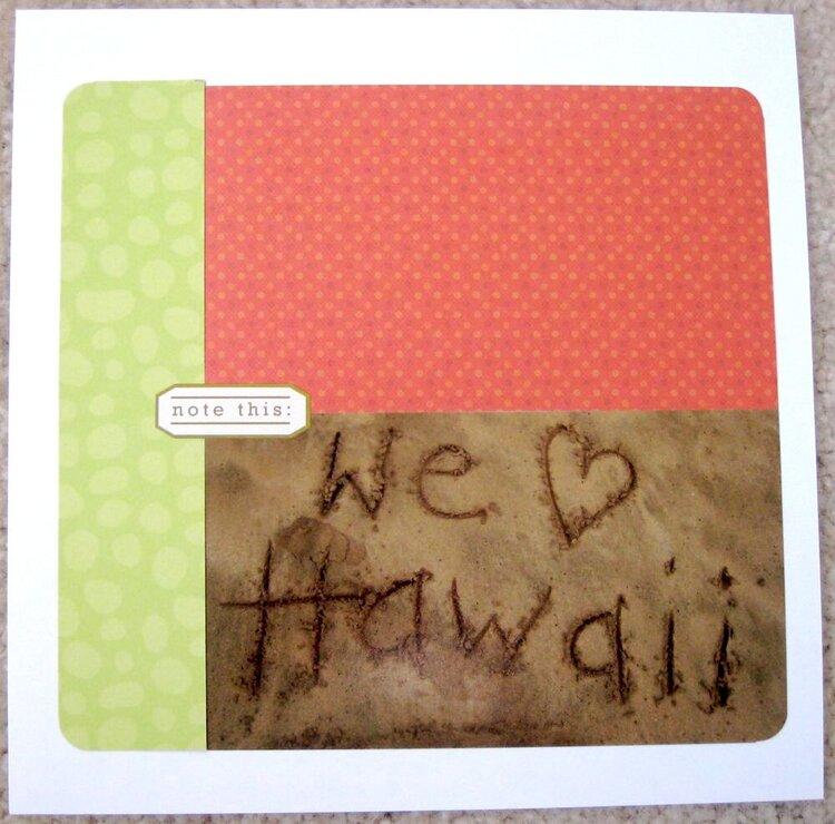 We heart Hawaii