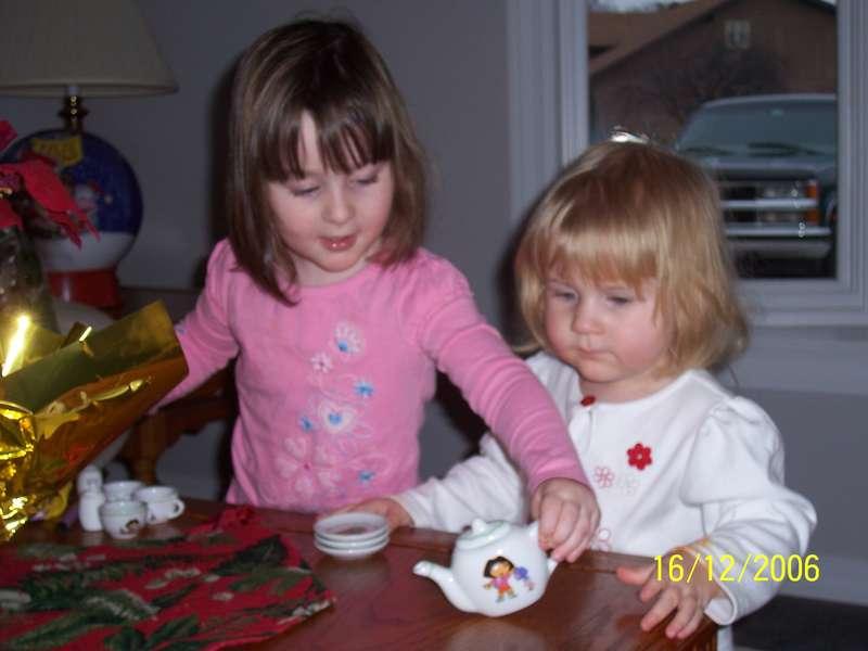 Megan and Mackenzie