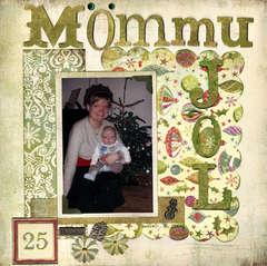 Christmas with my mom