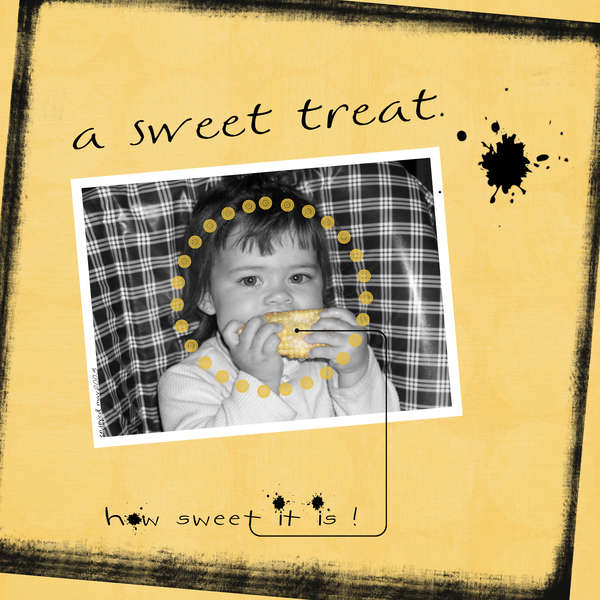 a sweet treat