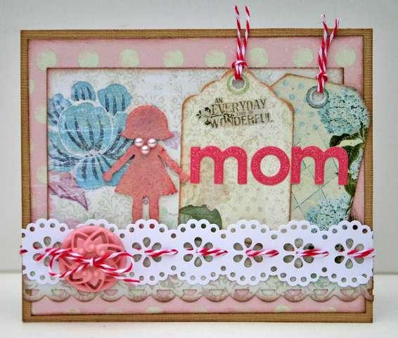 Mom card **Ruby Rock-It