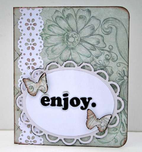 Enjoy card  **Ruby Rock-It