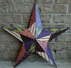 Altered Halloween Metal Star