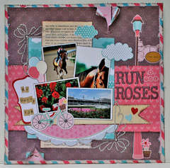 Run for Roses  **My Little Shoebox