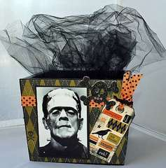 Monster Mash Altered Box