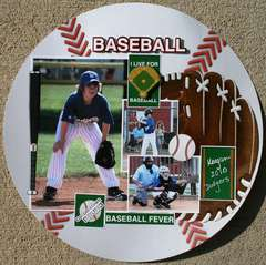 Baseball Fever Layout Reminisce