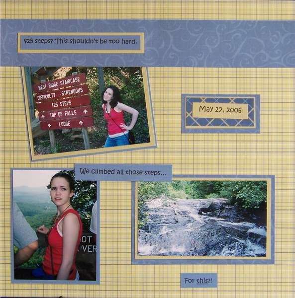 Amicalola Falls- pg. 2