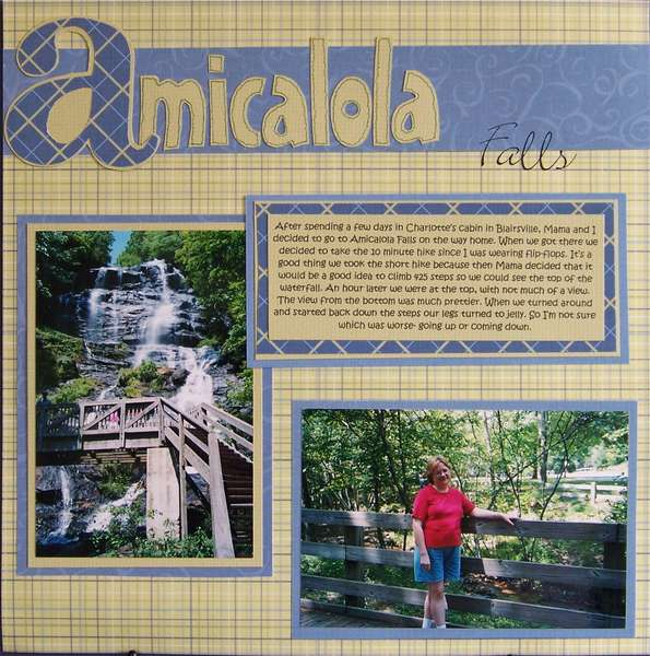 Amicalola Falls- pg. 1