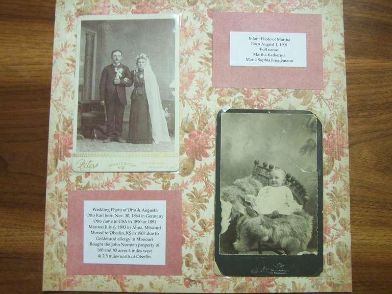 Otto & Augusta Friedemann & Martha