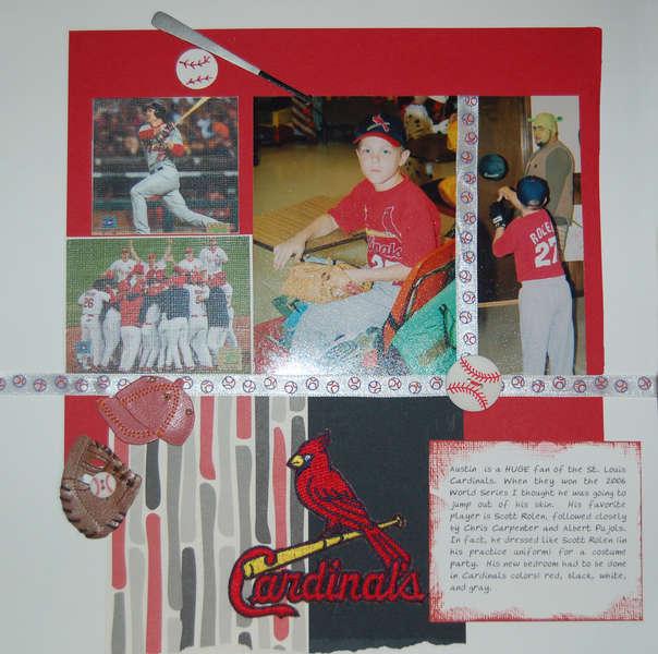 My Cardinals fan!