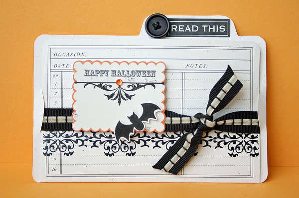 Halloween Idea Folder