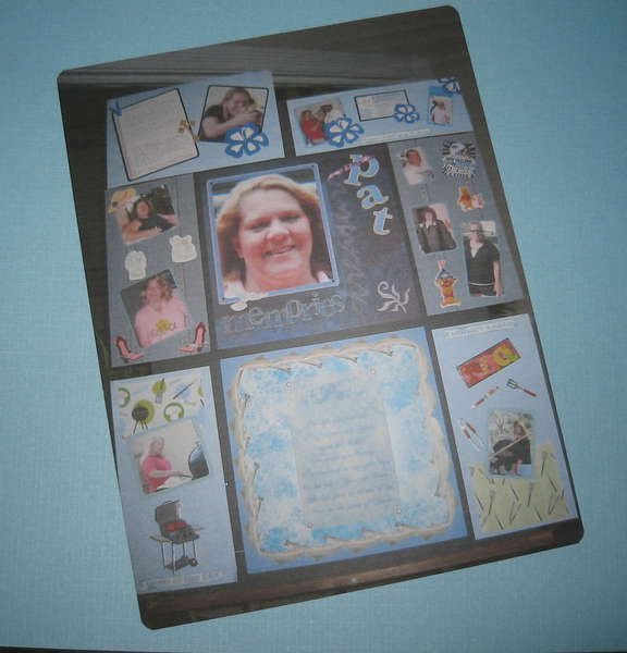 Memorial Layout Page for Sisters Memorial Board by Debrabee!!