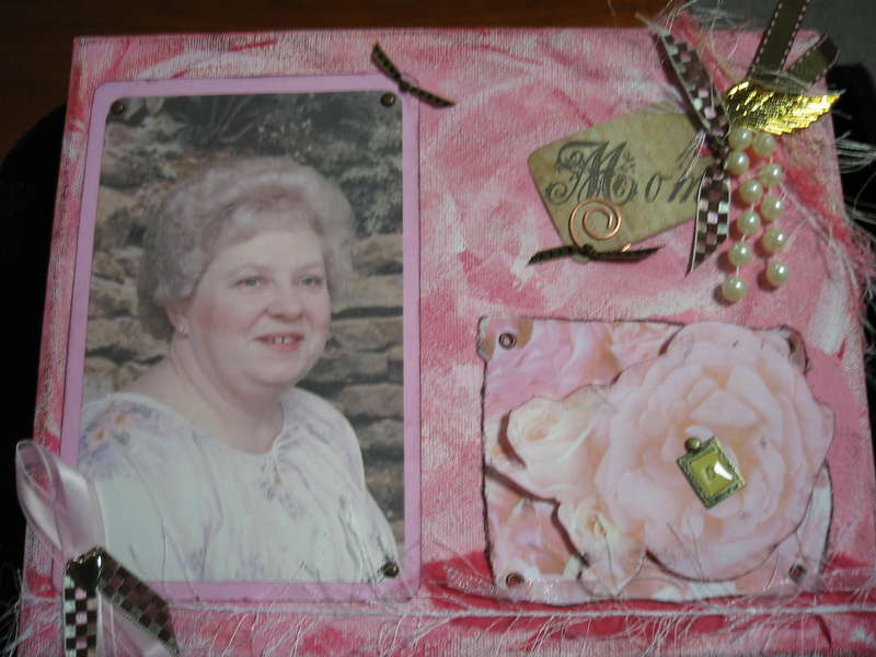 Altered Canvas - Mom Doralee