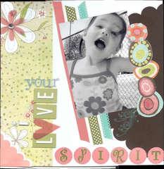 I love your spirit!