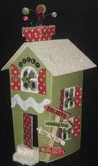 Doodlebug Christmas house!