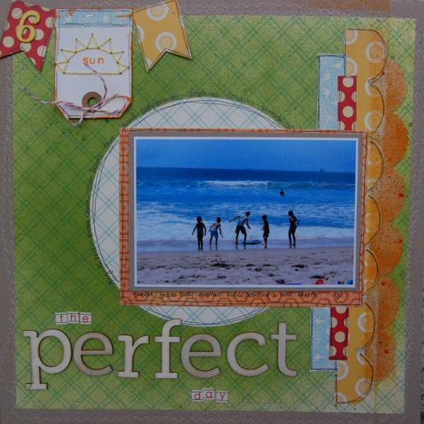 The Perfect Day - Creative Scrappers #172