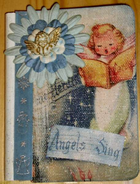 Altered Angel Composition book