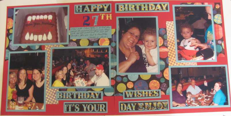 My Son's 27th Birthday