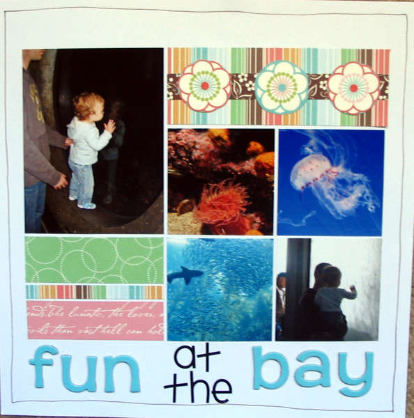 Fun at the Bay Aquarium (page 1)
