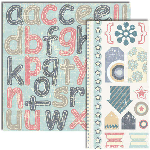 Sam's Collection: Alphabet Diecuts & Shapes Diecuts