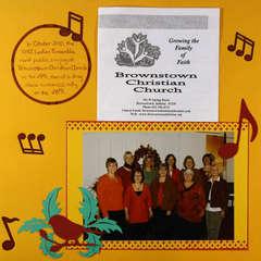Ladies Ensemble - October 2010