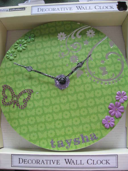 Altered clock for scrappindiva