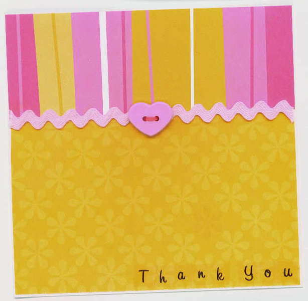 Thank You - bright